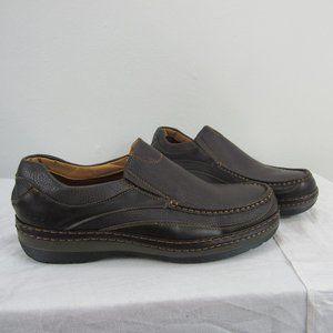Solo Men's slip-on walking shoe Coffee brown